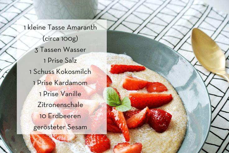 Erdbeer-Amaranthbrei, glutenfrei, besser essen