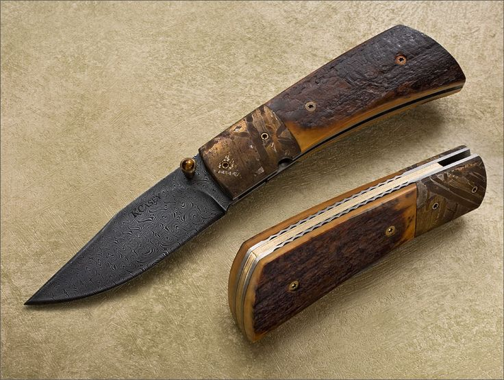 Kevin Casey Damascus Folder