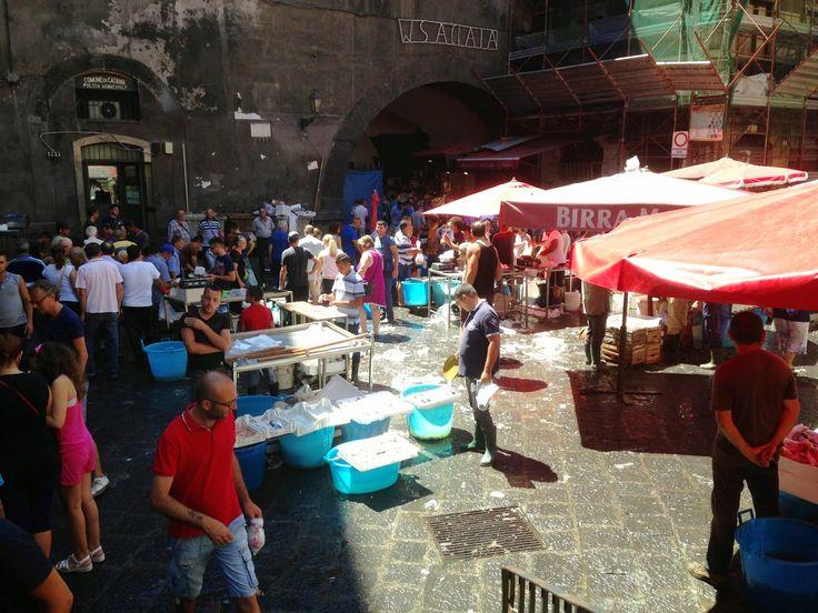 BLU AUBERGINE: MARKETS: The mercato di pesce in Catania, Sicily