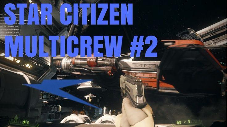 Star citizen with Ribio #2   Mayhem in the Caterpillar   Multicrew banter
