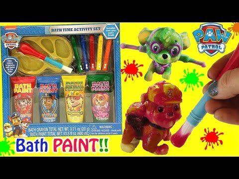 paw patrol bath paint - Google Search