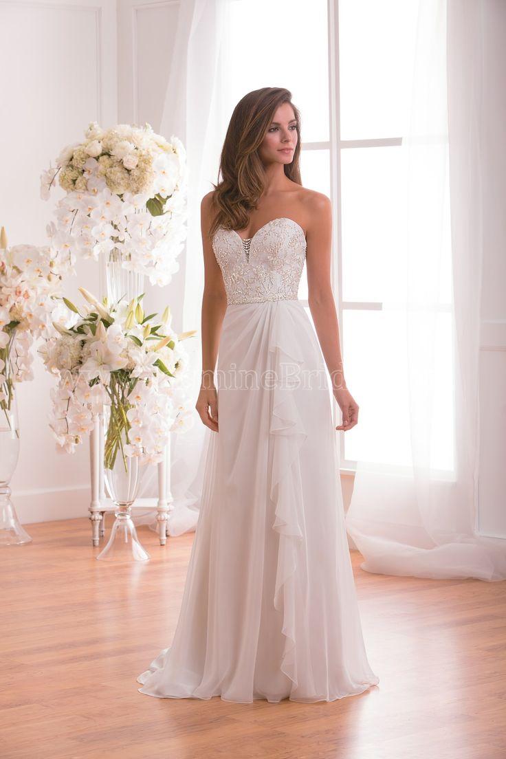 67 best tropical wedding inspo images on pinterest tropical jasmine collection bridal strapless wedding dress sweetheart neckline chiffon beading ombrellifo Gallery