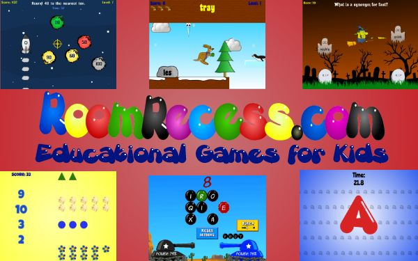 FREE Educational Computer Games for Kids~  Great online resource where kids can have fun while they learn.  Check out this engaging, safe resource for indoor recess fun!