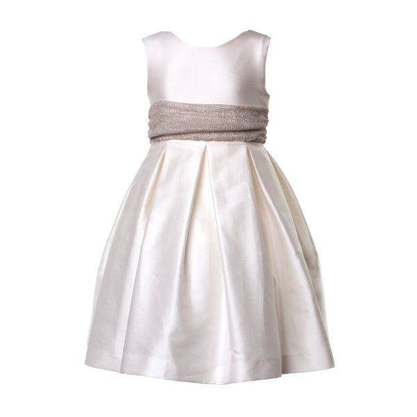 5ab35312efe9 Elegante abito in seta bianco firmato La Stupenderia