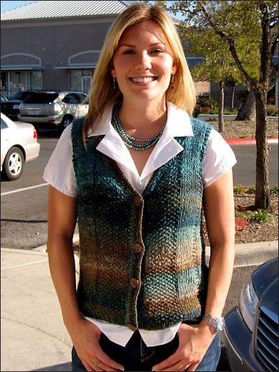 Knitting - India Sweater Vest - #REK0090