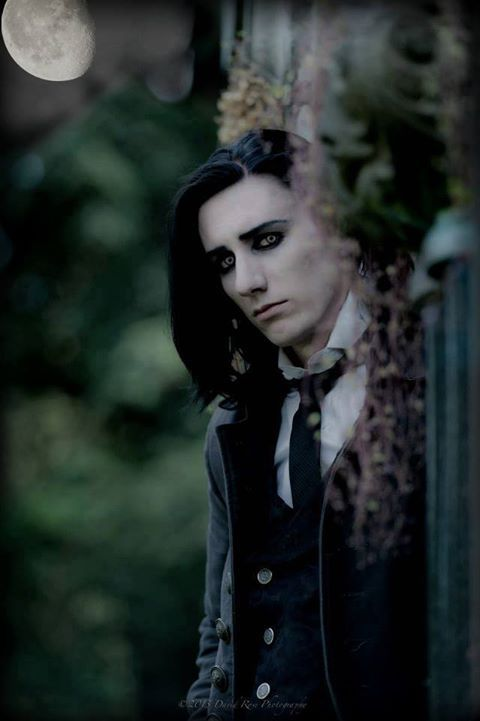 Chad Heger - Victorian or Edwardian styled gothic - goth men