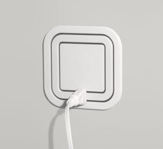 When building a new house, use Node Electric Outlets, eliminates the need for a power strip. Just plug it in anywhere on the square!