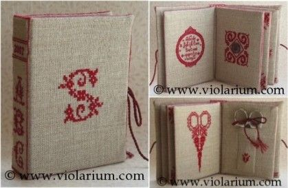 fabric book - excellent tutorial