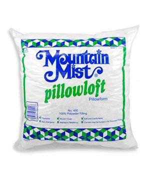"""Mountain+Mist+Pillowloft+Pillow+Form+-+22""""+x+22"""""""