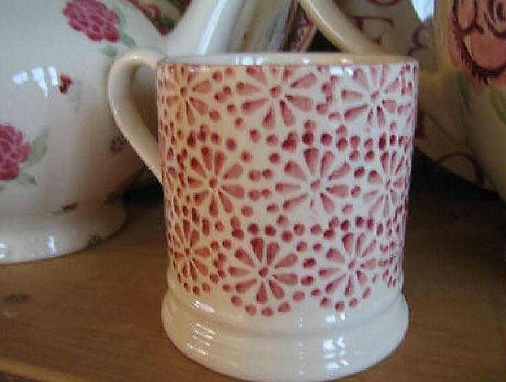 Emma Bridgewater Pink Daisy & Dot SAMPLE 0.5 Pint Mug
