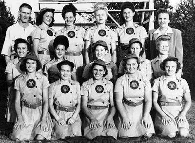 All-American Girls Baseball League, the 1940s League of Their Own