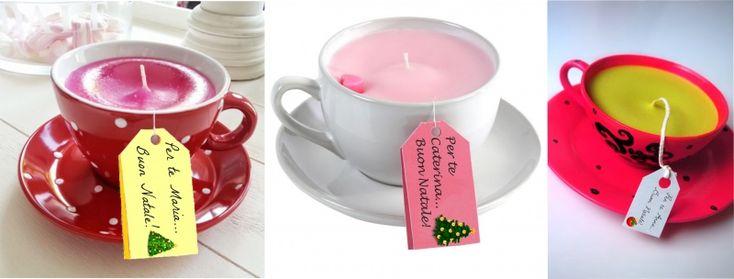 Idee regalo candele fai da te con tutorial