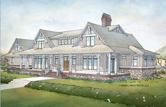ePlans Low Country House Plan – Coastal Inspired Low Country Design – 4970 Square Feet and 5 Bedrooms from ePlans – House Plan Code HWEPL77020