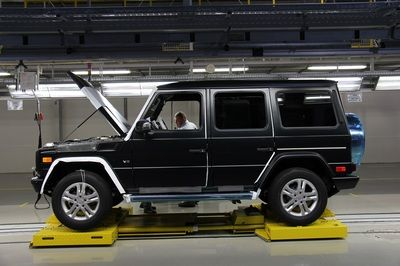 Mercedes G wagon from Armouredcars4x4