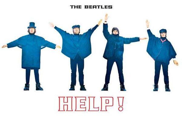 The Beatles Help Album Cover Poster 11x17 – BananaRoad