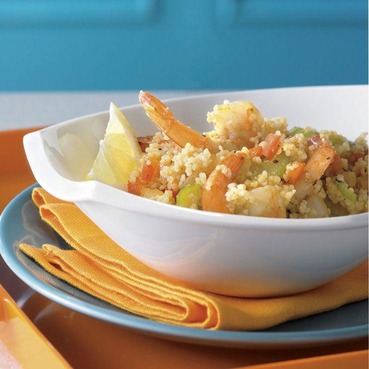 Les crevettes ne sont pas populaires à la maison? On peut les remplacer par des lanières de poulet, des morceaux de saucisses ou même des cubes de tofu pour les familles végétariennes.