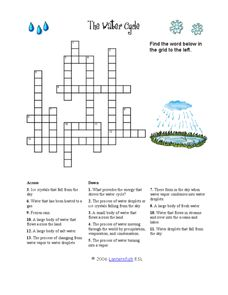 6th Grade Science Crossword Puzzle Worksheets - crossword ...