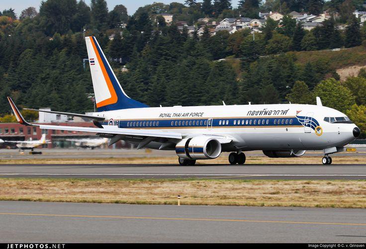 Royal Thai Air Force Government Flight Division Boeing 737-800BBJ