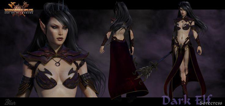 Dark Elf Sorceress - Final 3D Artist: Sze Jones