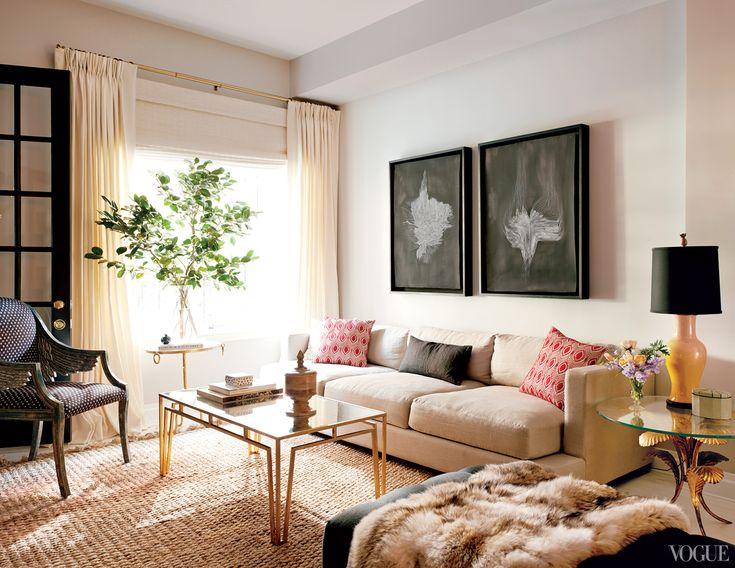 Artwork by Lukas Machnik in the living room.