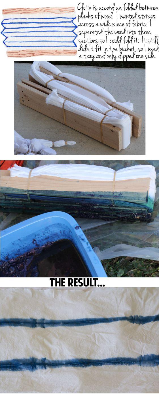 : The Aestate: DIY Shibori with Indigo Dye Tutorial :