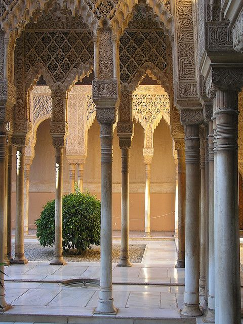 Alhambra palace, Granada- this town in so pain had the best gelato in the world.better than Italy.