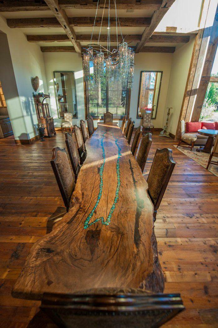 Les 25 meilleures idées de la catégorie Table bois brut sur ...