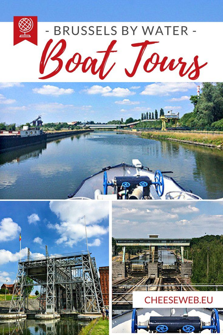 Discover Belgium by boat with a Brussels by water boat tour, including the UNESCO-listed historic boat locks