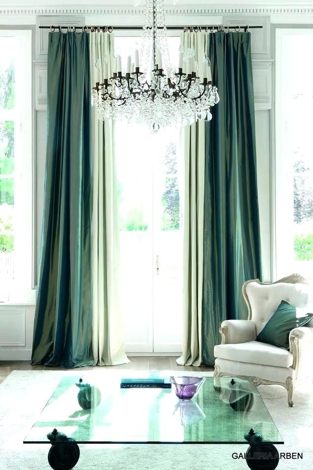 Emerald Green Curtain Panels Dark Velvet With Images Living