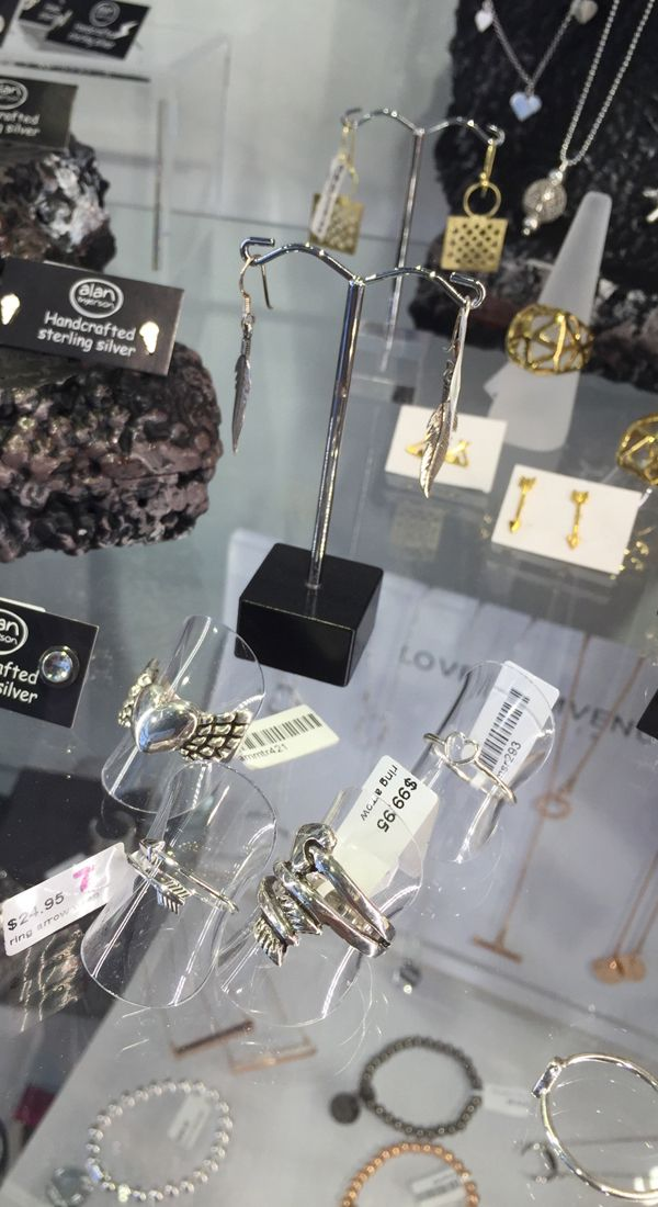 Some stunning jewellery displayed with our earring stands, rings holders and acrylic risers to add height to the display. Purchased at Shop for Shops. #shopforshops #hominginstincts #malvern #fashionaccessorydisplays #jewellery #jewellery display #ots #offtheshelf #melbourne #homewares #gifts #smallbusiness #shopmelbourne #shoplocal