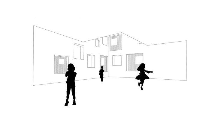 Paolo Fromage · Scuola materna e sala prove musica. · Divisare