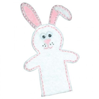 Easter Bunny Finger Puppet - CleverPatch