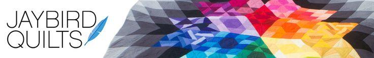 Binding techniques: Binding flange, curves, 120º angles, Jaybird Quilts