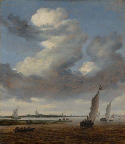 View of Beverwijk from the Wijkermeer | 1661 | Mauritshuis | Public Domain Marked