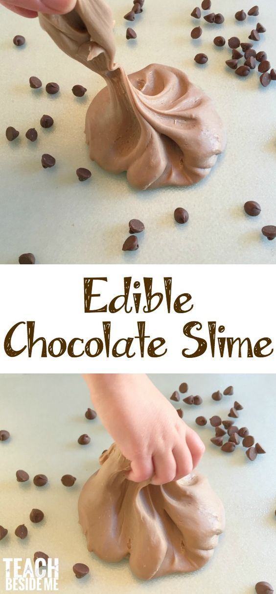 Chocolate. Enough said. No, but really,edible chocolate slime is another fun slime that you can feel safe letting your kids play with (and eat)! Did you see the Edible Starburst Slime I shared earlier? It's been a hit!! This one is a little stickier and gooier, but still great fun! What I love about making …