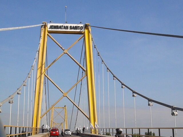 Jembatan barito.... Kalsel