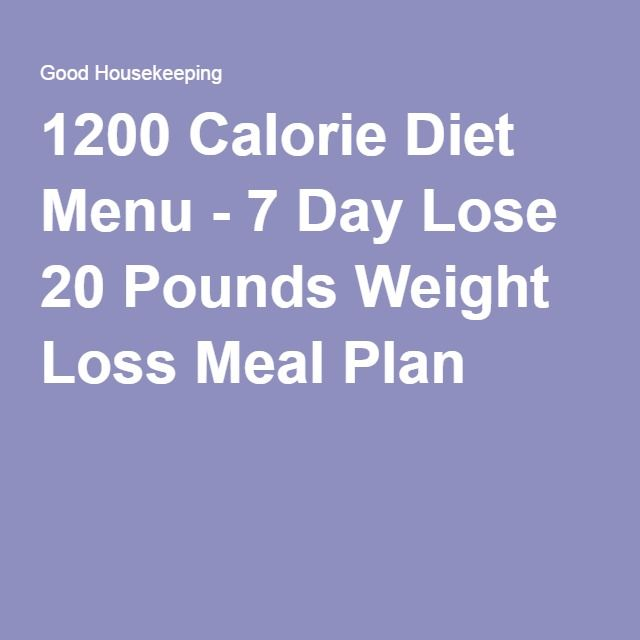Com 1200 calorie diet menu 7 day lose 20 pounds weight loss meal