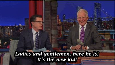 """Letterman approved. 