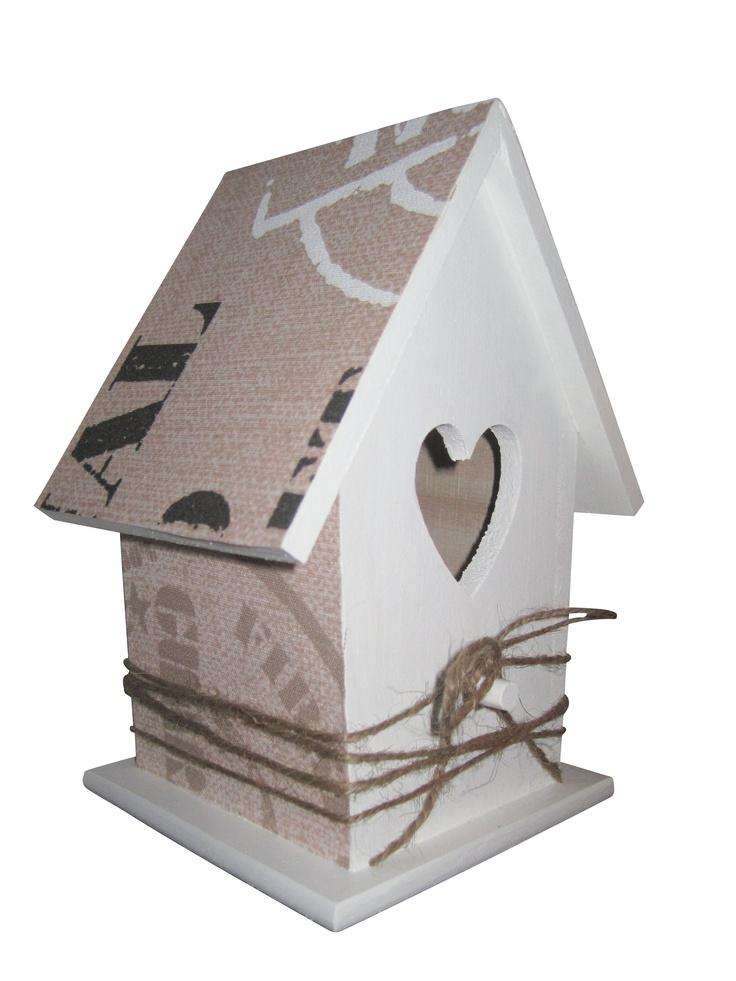 Decoratie #vogelhuisje voor een #kinderkamer #jongenskamer www.kids-ware.nl