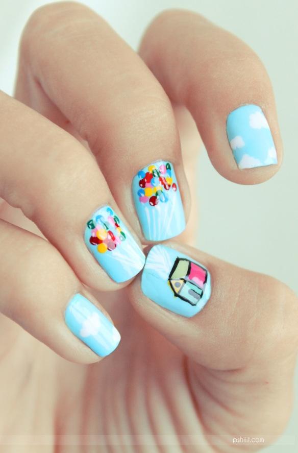 Up! nail art