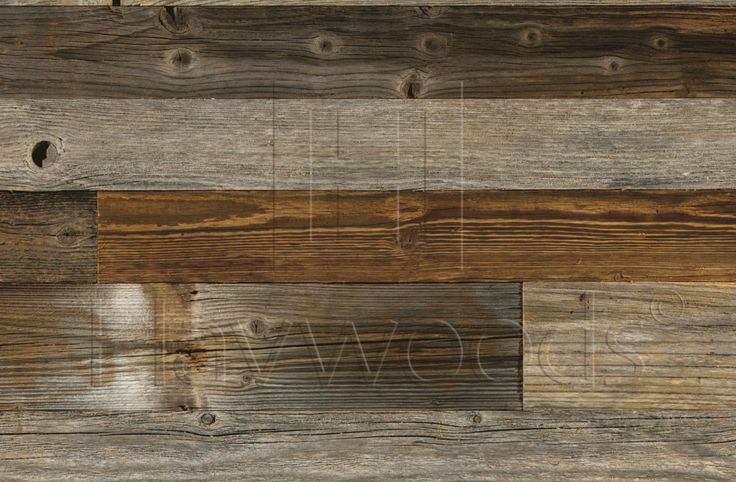 HRC1940 Reclaimed Solid Pine Cladding Genuine Reclaimed Grey Unfinished Engineered Cladding