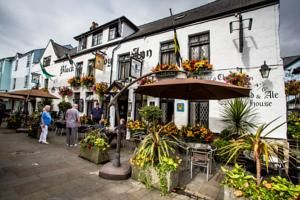 The Black Boy Inn, Caernarfon, Wales. We stayed here when we visited Caernarfon.