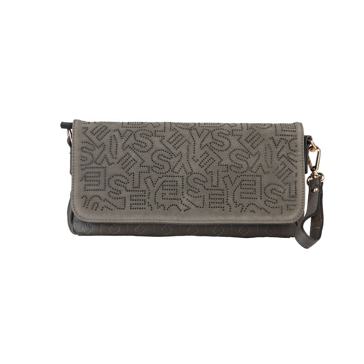 Sisley Grey Clutch Bags | The Nora #FreeShipping