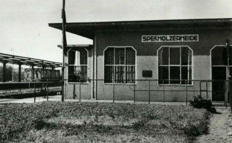 Spekholzerheide- oude treinstation miljooenenlijntje