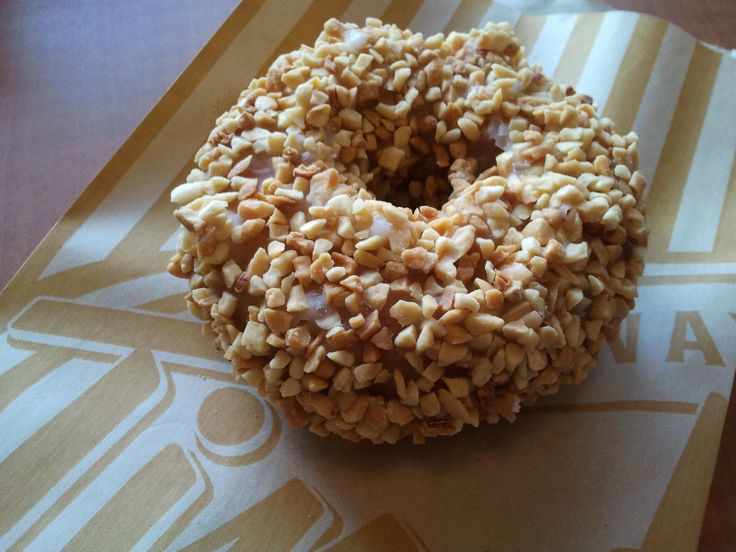 Recreating the Tim Horton's (USA) Peanut Crunch Donut!!! I still think it has maple in the glaze though...