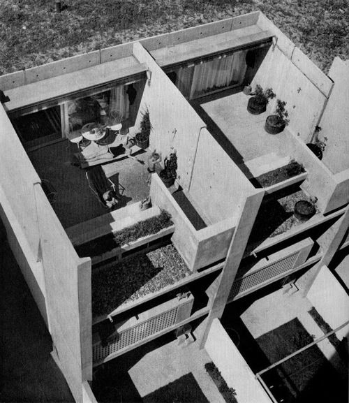 Siedlung Halen by Atelier 5 Built in 1961 as an exercise in...