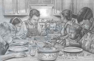 Family Circle by Joe Vick