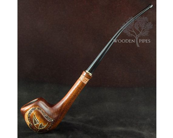Long Lady Wooden Tobacco pipe SUMMER. Long от EXCLUSIVEWoodenPipes