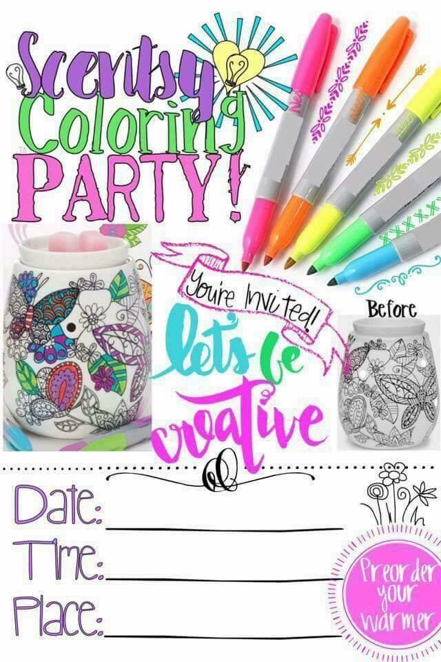 469 best Scentsy images – Scentsy Party Invitations
