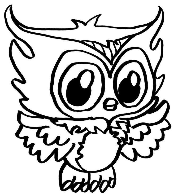 Printable Owl Valentines Day Chocolates Coloring Page | 820x736